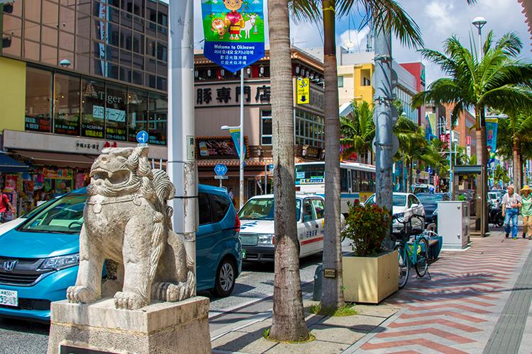 那覇市にある国際通り